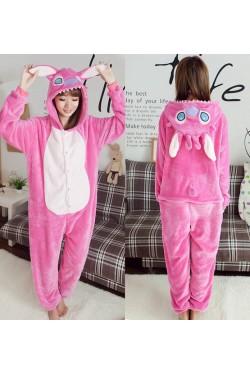 Кигуруми пижама (Розовый стич)