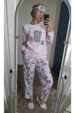 Женская пижама (7823) теплая
