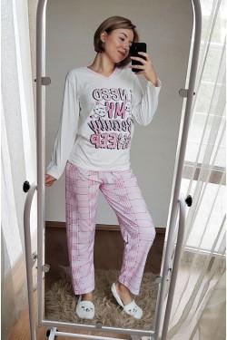 (12131) Пижама с длинными рукавами