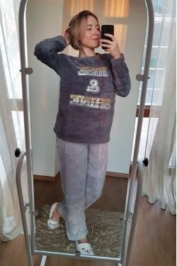 Женская новогодняя пижама Плюш