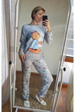 Флисовая пижама с Гарфилдом (7035)