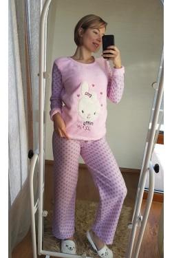 Теплая пижамка велсофт (7032)