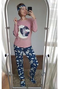 Пижама с месяцем (3-ка) (7059)