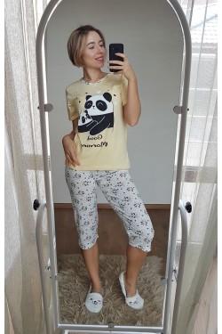 Пижама с капри (7108)