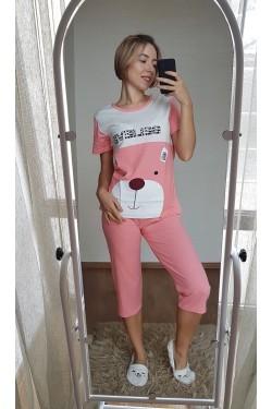 Пижама с капри (7109)