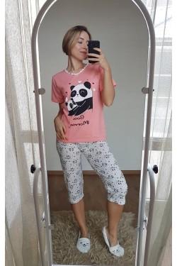 Пижама с капри (7123)