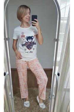 Женская пижама со штанами (7236)