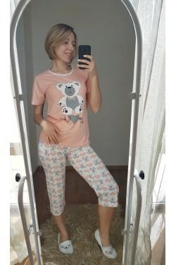 (7249) Женская пижама с капри