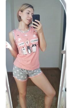 Пижама хлопковая (7245)
