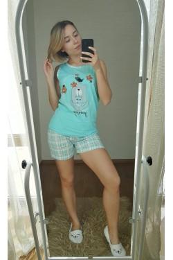 Пижама хлопковая (7243)