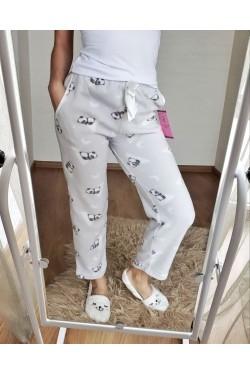 Домашние брюки флисовые