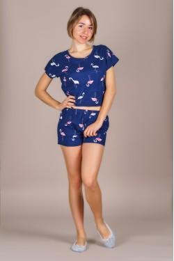 Пижама (топ+шортики)