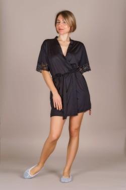 Шелковый халат для женщин (511-2)
