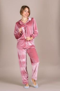 Бархатная пижама 111-1-1