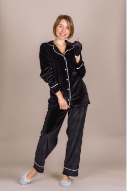 Пижама бархатная (Черная Пантера)