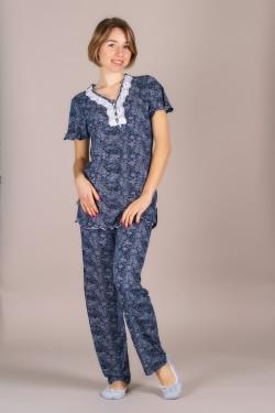 Пижамка вискозная (590-1)
