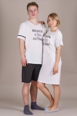 (607-3) Пижамки для влюбленных