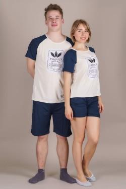 Пижама для влюбленный (607-1)