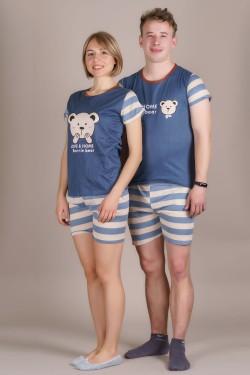 Пижамки для Нее и Него (606-4)