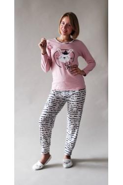 Пижама с длинными рукавами You Pink