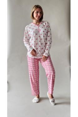Хлопковая батальная пижама