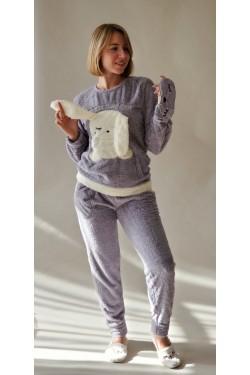 Плюшевая пижама Зайка (4135-2)