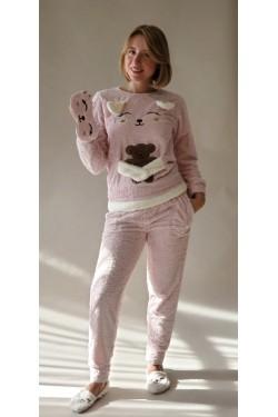 Плюшевая пижама Обнимашки (4135)