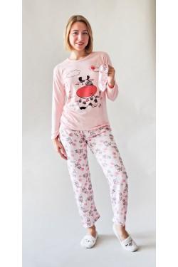Пижама с длинными рукавами Cow (734U)