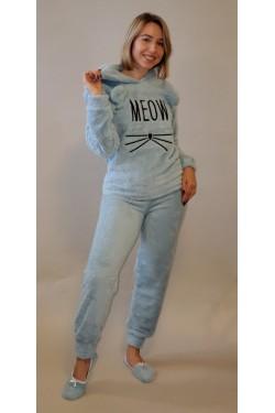 Плюшевая пижама Meow Green (4130)