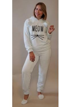 Плюшевая пижама Meow Blue (4131)