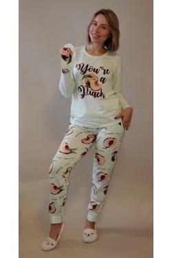 Пижама батальная хлопковая You are Peach (4650-4)