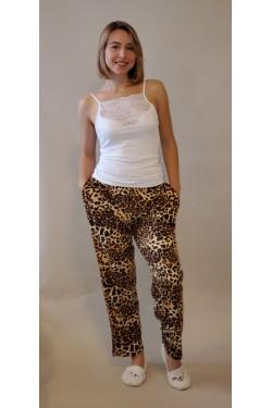 Домашние батальные штаны Леопард  (1424)