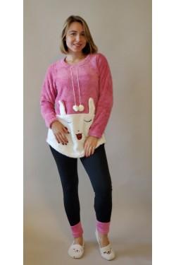 Женский домашний костюм Pink Rabit  (21416)
