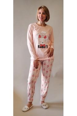 Пижама с длинными рукавами (8189)