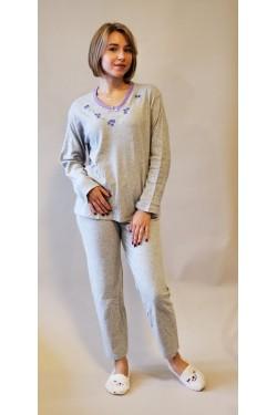 Кашемировая пижама Flowers Violet (2104)