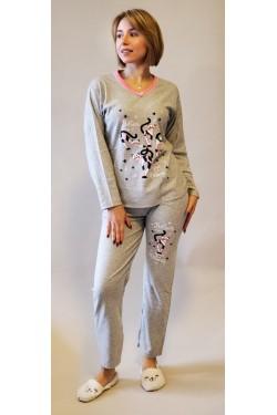 Кашемировая пижама Belive in.... Pink (2107)