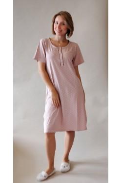 Ночная рубашка-туника батальной серии Pink  (70016)