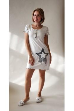 Ночная рубашка-туника Star (11488)