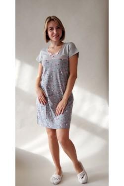 Ночная рубашка-туника Flowers (71000)