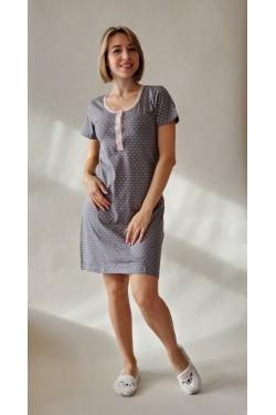 Ночная рубашка-туника Grey (71064)