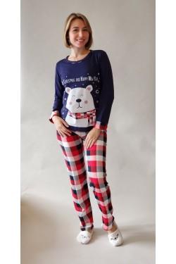 Пижама с длинными рукавами Merry Christmas (69199)