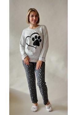 Пижама с длинными рукавами Heart Dog (69270)
