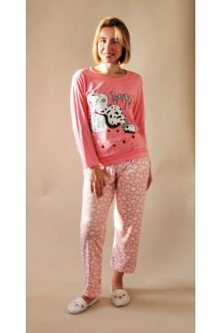 Пижама хлопковая Pink Love Cow (5408)