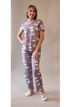 Пижама с футболкой и штанами Dreams Fly (7253)