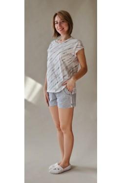 Женская пижама с шортами (7166)