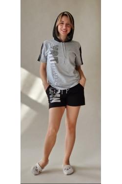 Женская пижама с футболкой Grey Gan (2554)