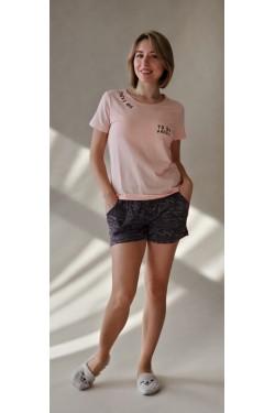 Женская пижама с шортами  (7167)