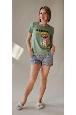 Пижама женская с шортами  (2022)