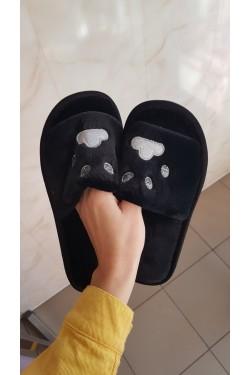 Тапочки домашние Black