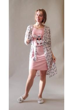 Домашний комлект Pink Panda (8274)